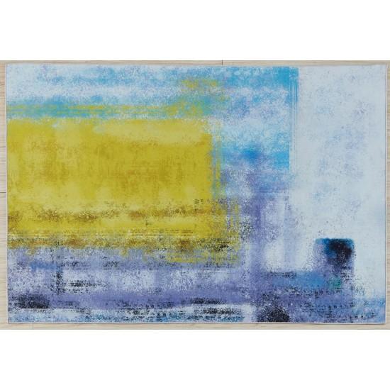 Covor Heinner cu print digital 3D, 160 x 230 cm, Sun✔️