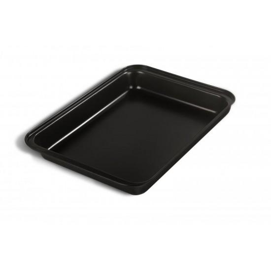 Tava pentru friptura teflonata Vanora Home, 42.5 x 29 x 5 cm✔️otel, acoperire antiaderenta (teflon)